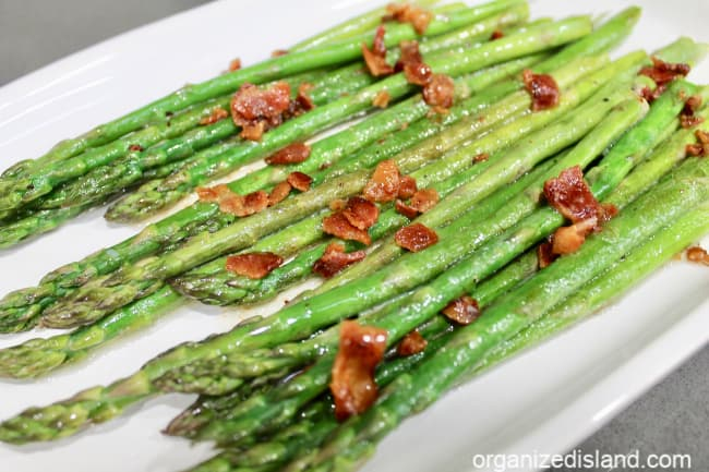 grilled asparagus with bacon