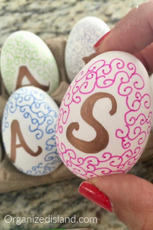 Easter Egg Marker Art