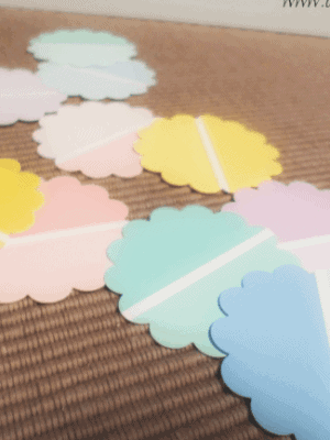 paint chip craft