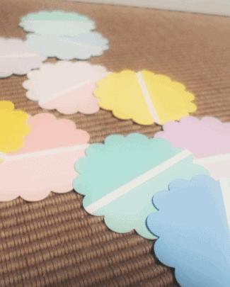 paint chip craft