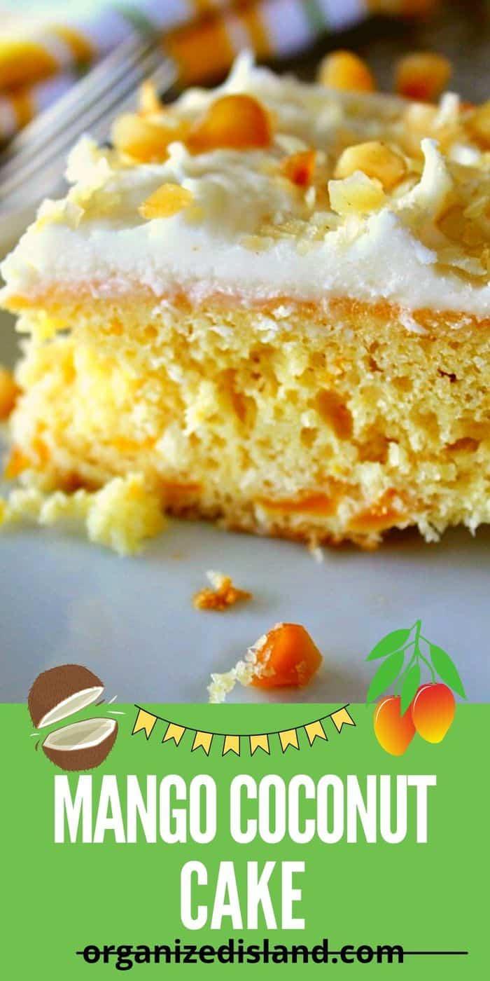 Mango Coconut Cake