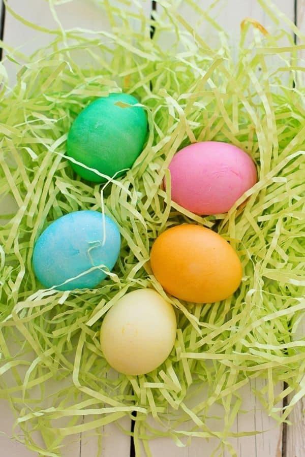 farmhouse easter eggs
