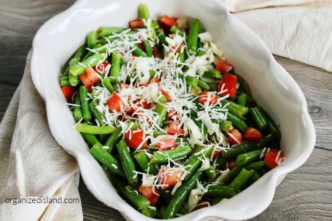 cold green bean salad
