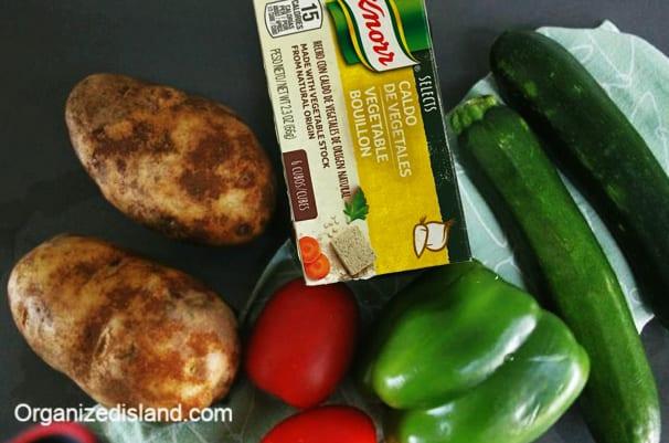 Easy veggie soup