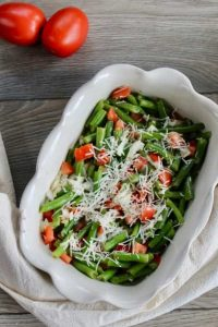 Salad with green beans