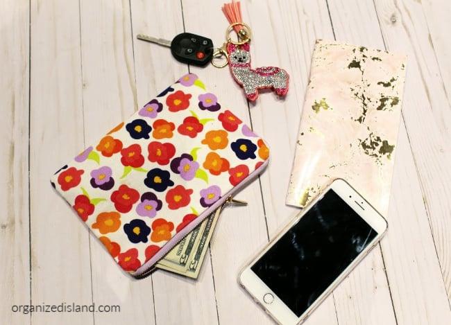 wallet keys & phone