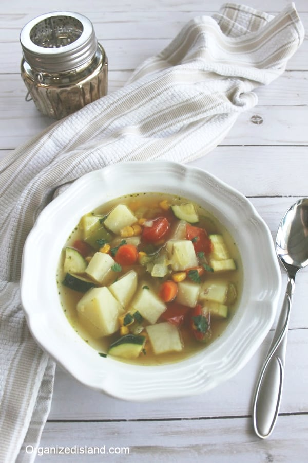 Vegetable Soup Easy Recipe