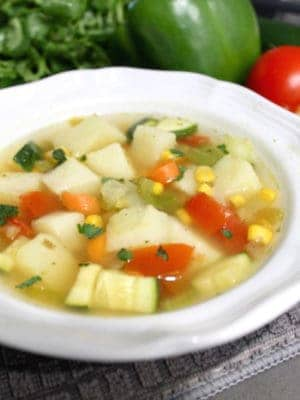 Vegetable soup recipe bouillon