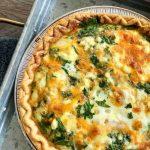 spinach quiche feta recipe