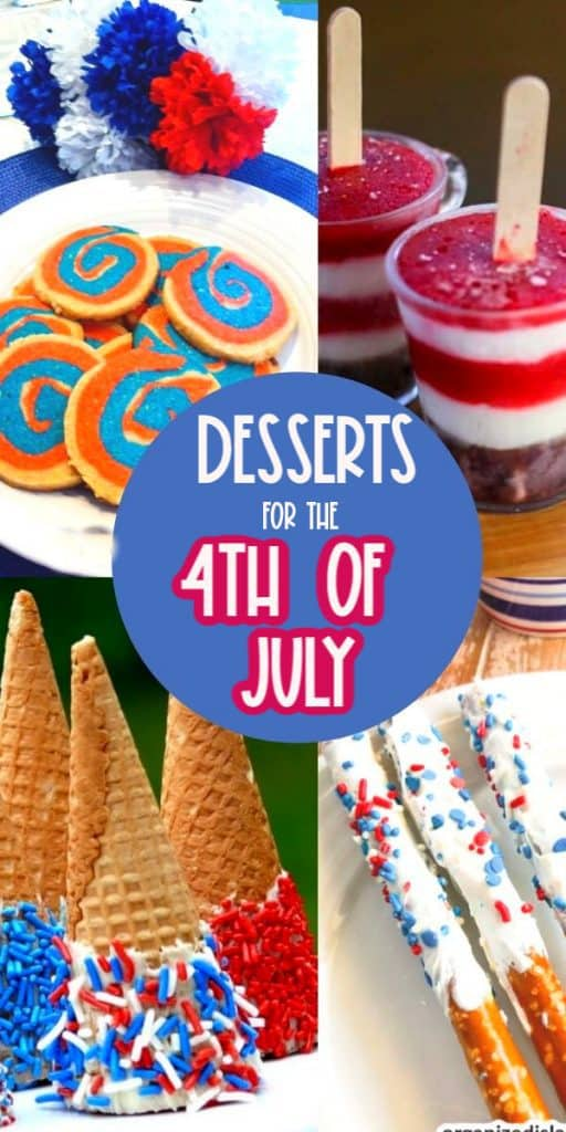 Desserts for 4th of July (