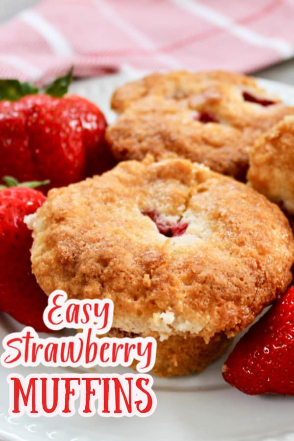 How to make strawberry muffins
