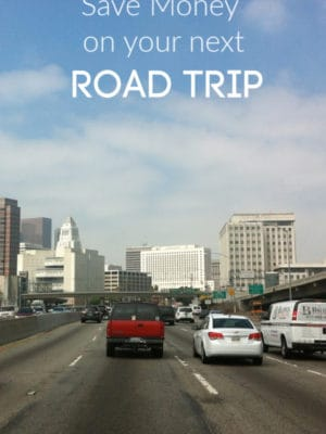Save money on road trip