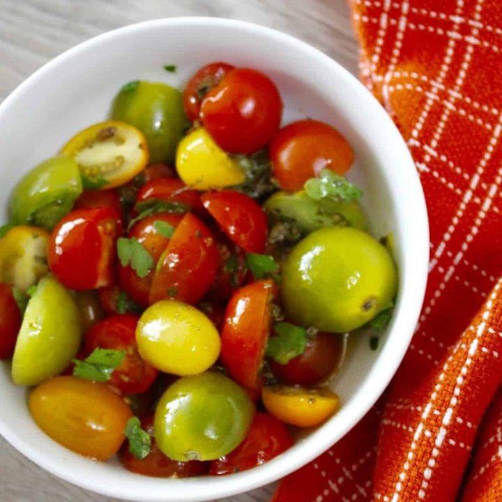 Marinated Tomato Salad