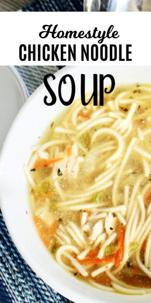 chicken soup spaghetti