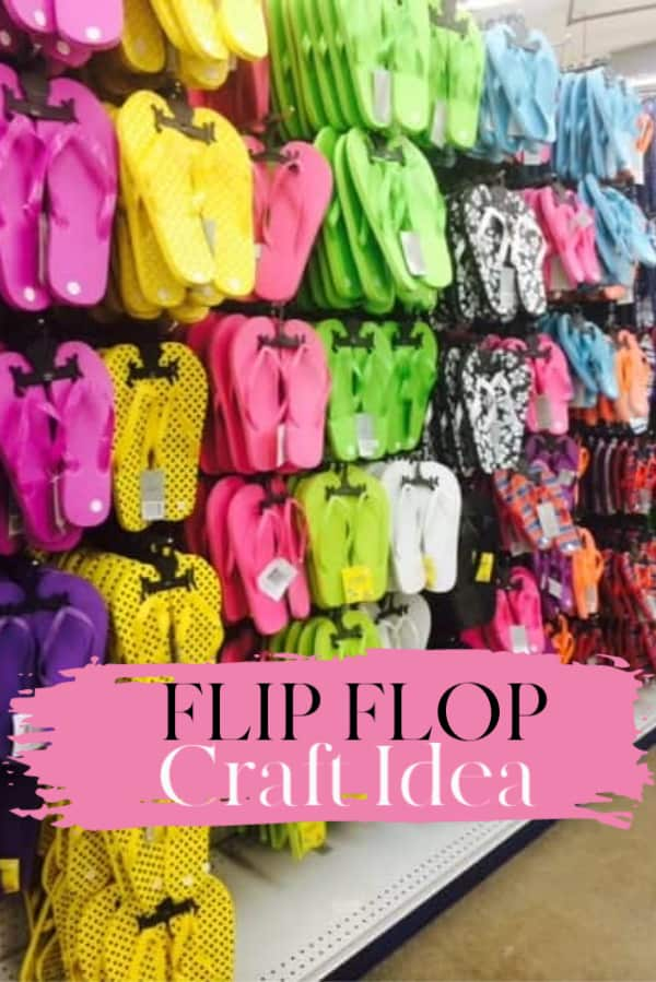 Flip Flop Craft idea