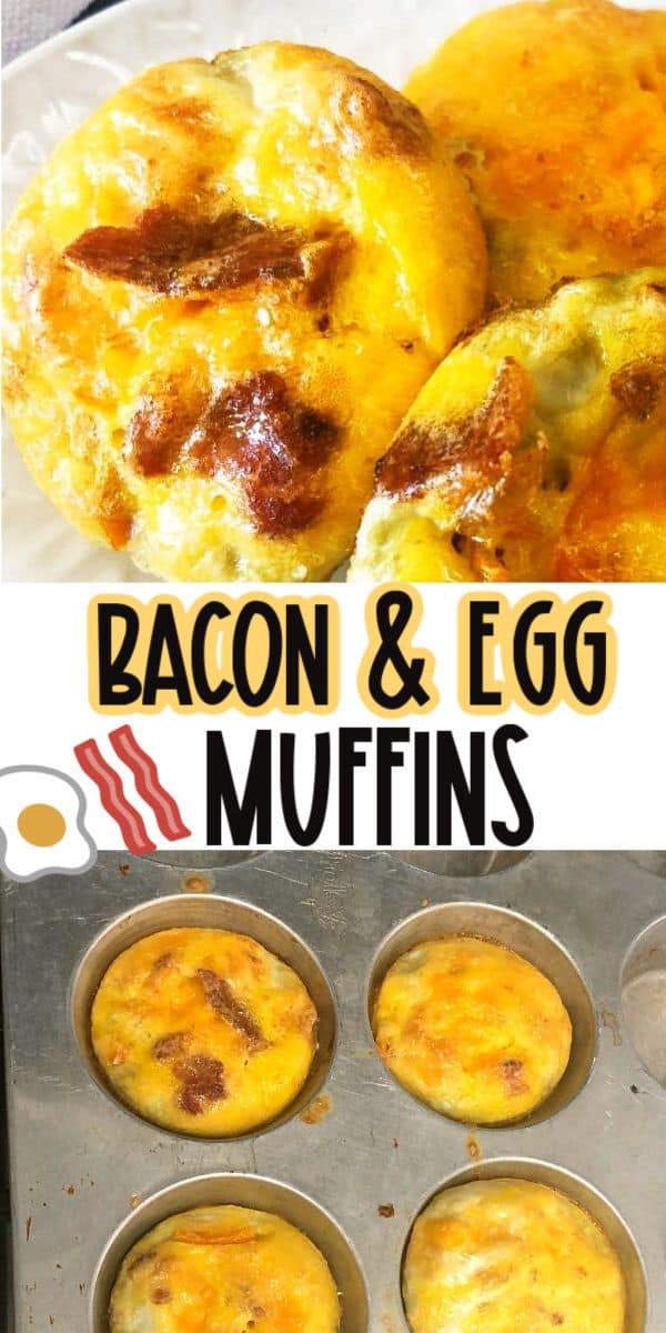 Easy Bacon Egg Muffins