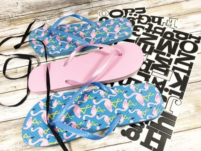 DIY flip flop sign