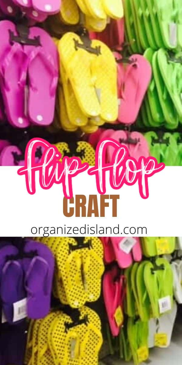 Flip Flop Summer Craft