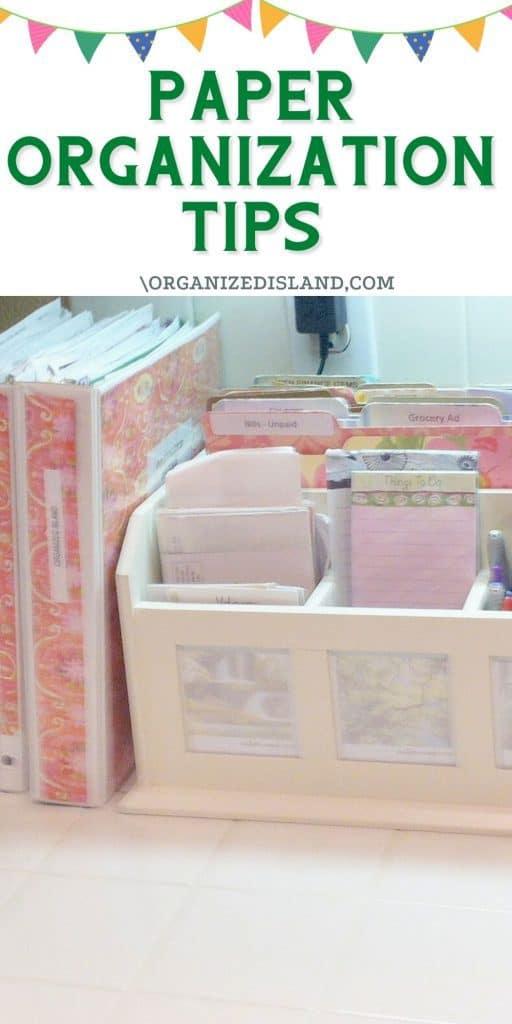 Paper Organization Tools