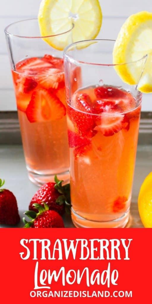 Strawberry Lemonade Recipe