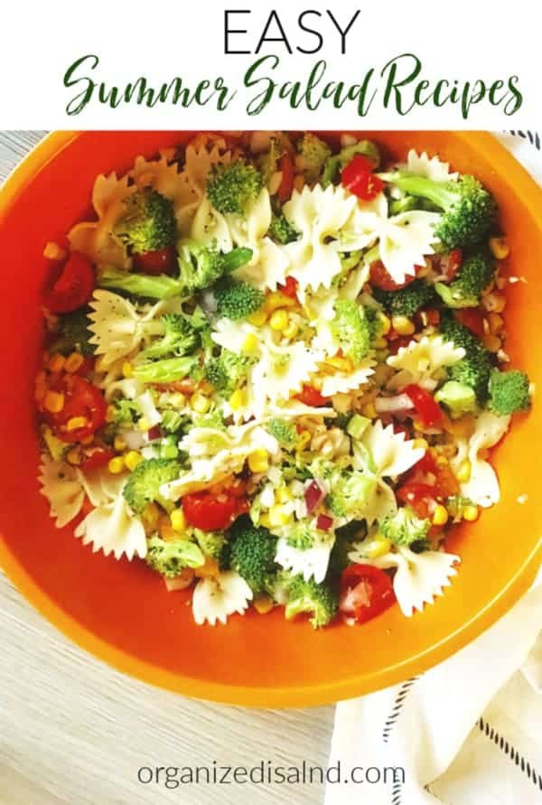 Easy Summer Salad Recipe Ideas