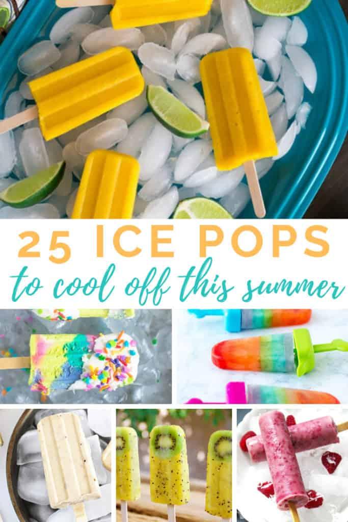 Summer Ice Pop Recipes