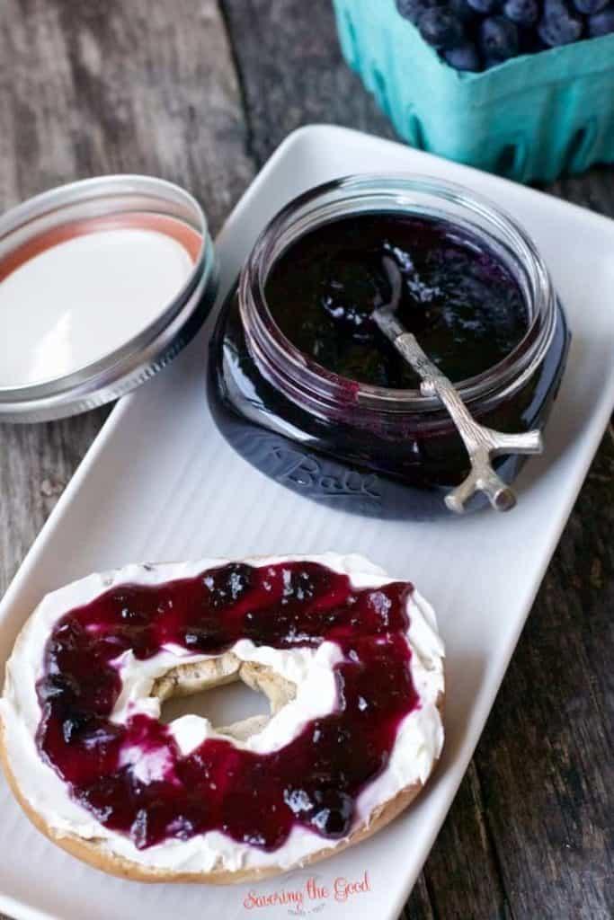 30+ Amazing Brunch Recipes with Fresh Fruit - Blueberry Jam