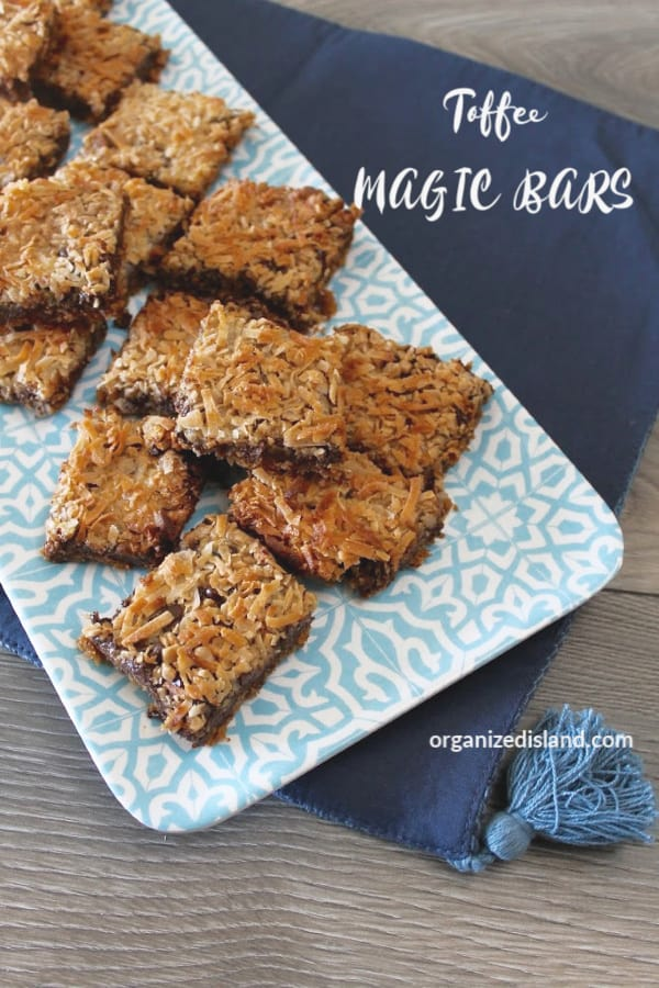 Chocolate Coconut Magic Bar Recipe