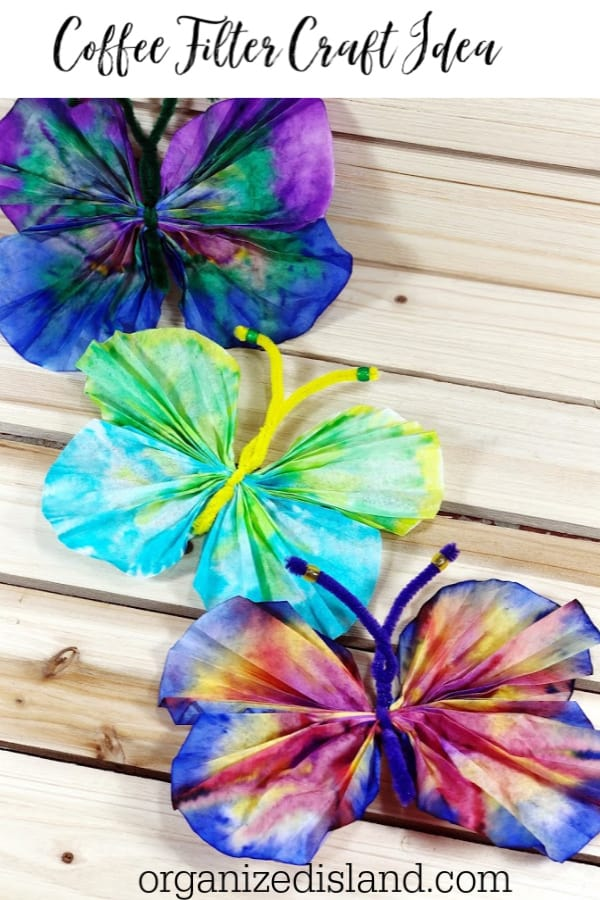 Coffee Filter Craft idea