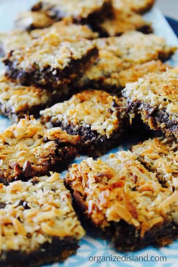 Coconut Chocolate Toffee Bars REcipe