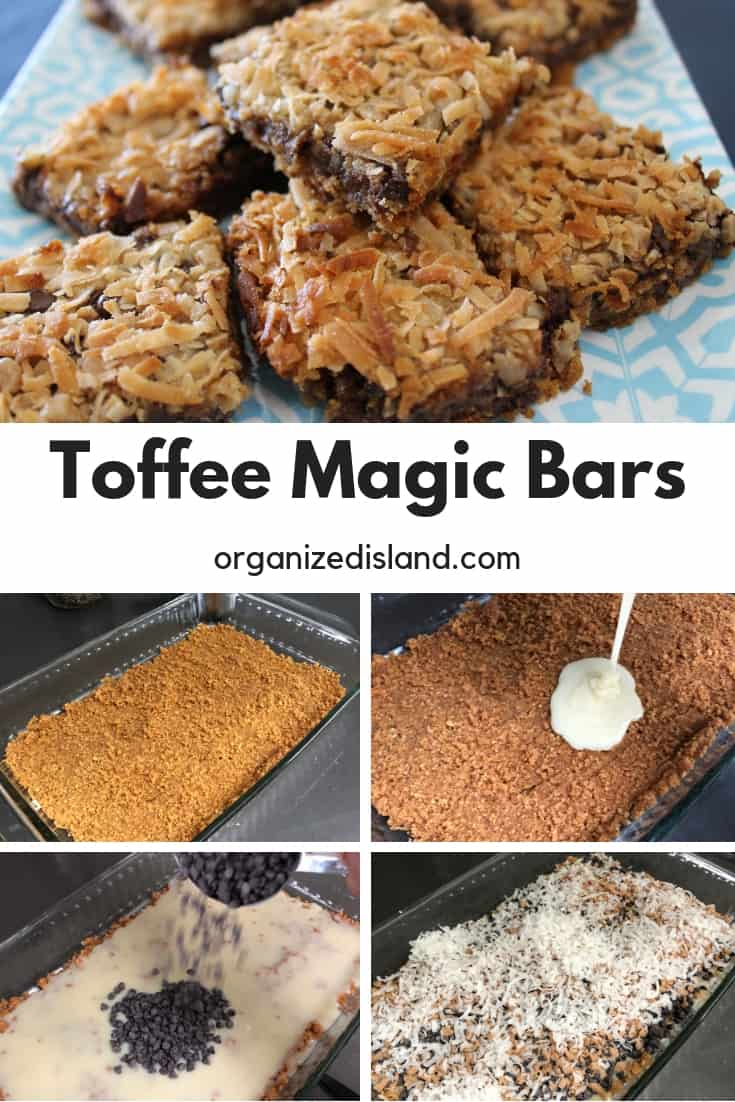 Toffee Magic Bars