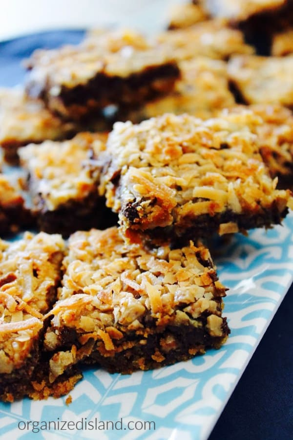 Coconut Chocolate Toffee Bars