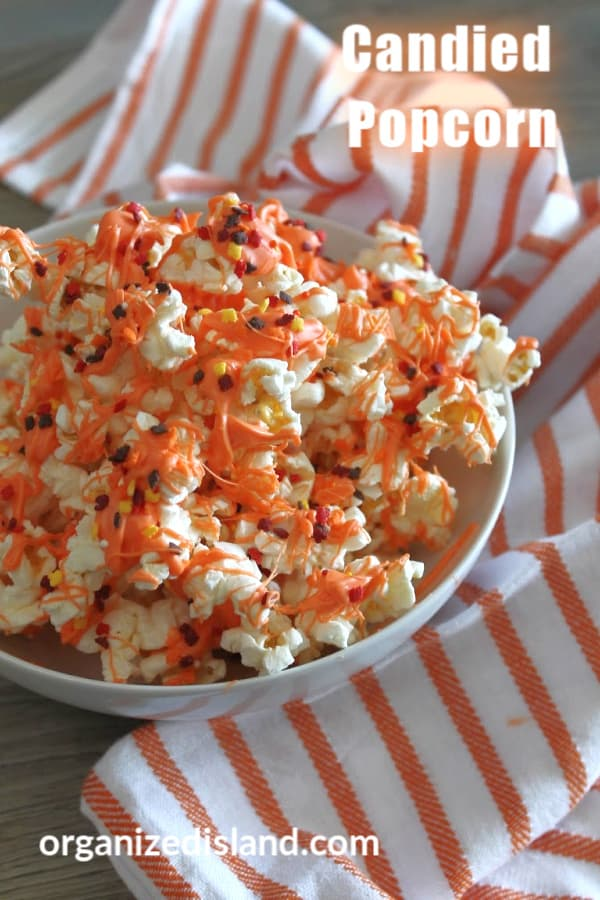 Candied Popcorn Recipe Easy