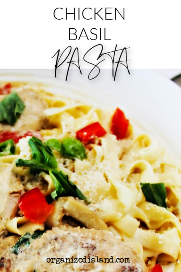 Chicken Basil Pasta Recipe