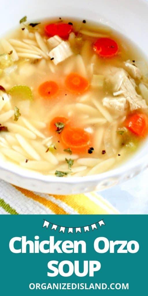 Chicken Orzo Soup