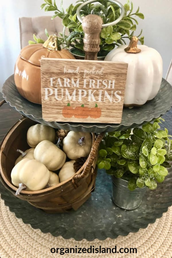 Easy Fall Decorating Ideas on a budget