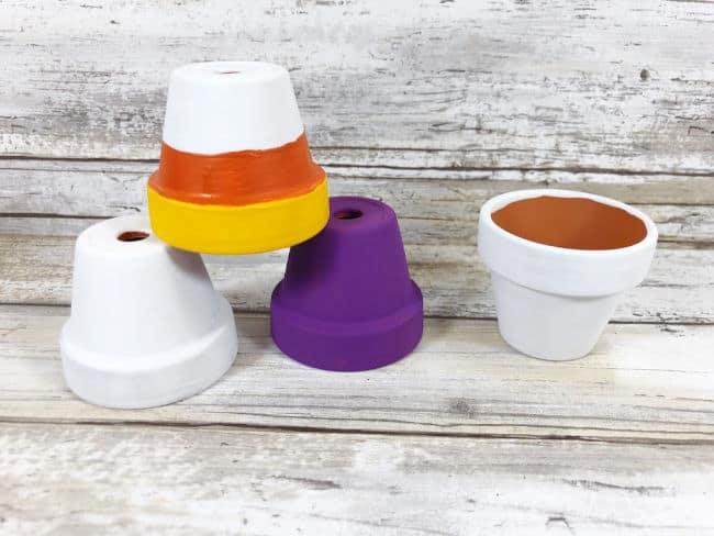 Kawaii Clay Pot Craft