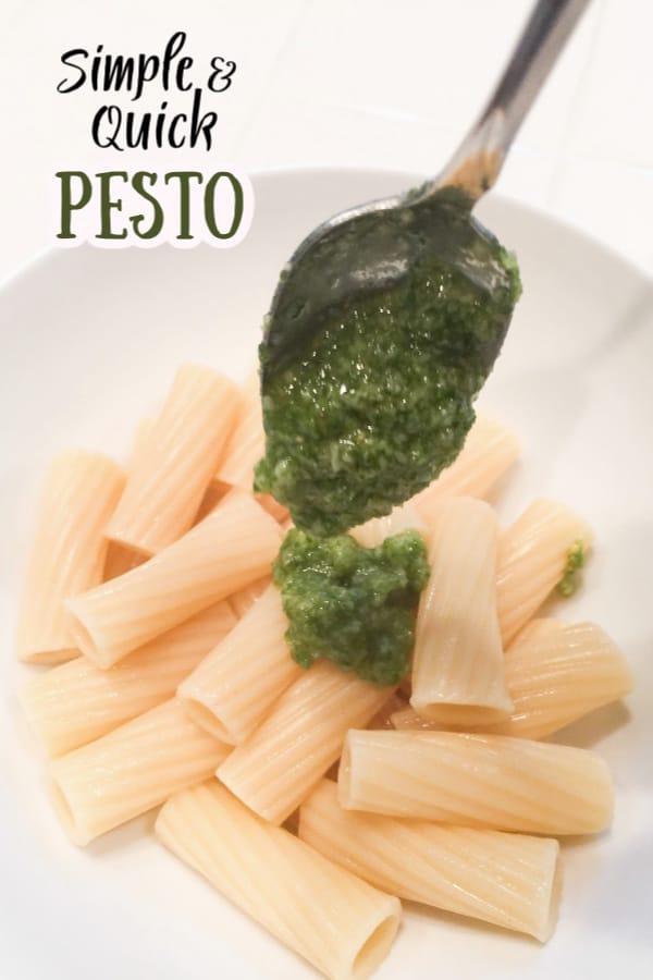 Quick Pesto Recipe