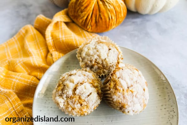 Pumpkin muffins from scratch