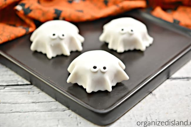 how to make fondant ghost toppers