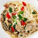 Basil Chicken Pasta