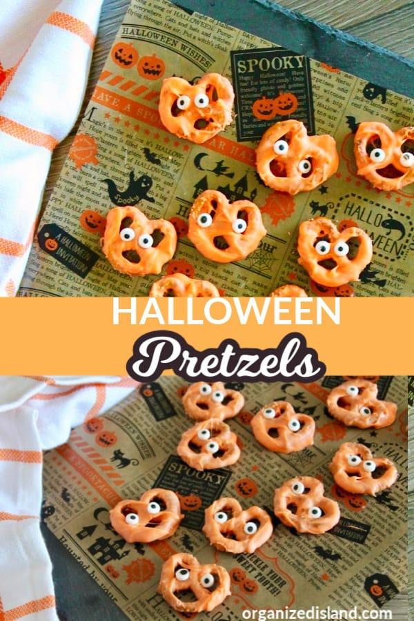 Candy Pretzels Halloween