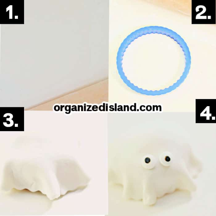 How To Make Fondant Ghosts