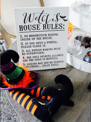 Cute Witch Decor