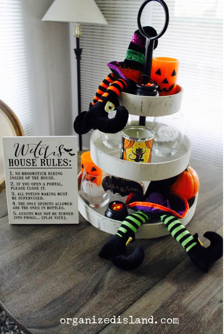 Halloween Tiered Tray