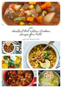 Instant Pot and Slow Cooker Soups for Fall