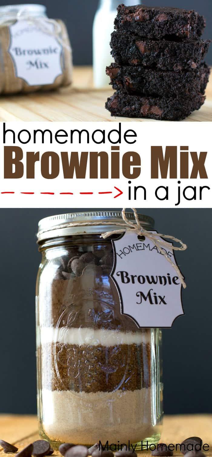 Brownie Mix in a Jar