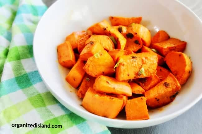 How to bake Sweet potatoes in oven