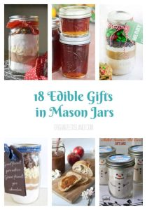 18 Edible Gifts in Mason Jars