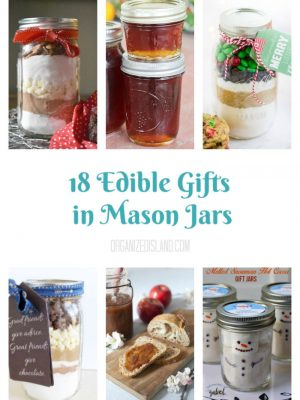 18 Edible Gifts in Mason Jars